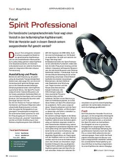 KEYS Focal Spirit Professional
