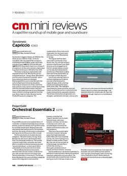 Computer Music ProjectSAM Orchestral Essentials 2
