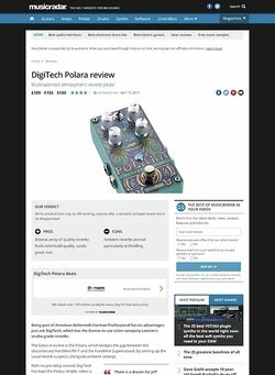 MusicRadar.com DigiTech Polara
