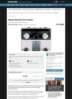 MusicRadar.com Mooer Reecho Pro