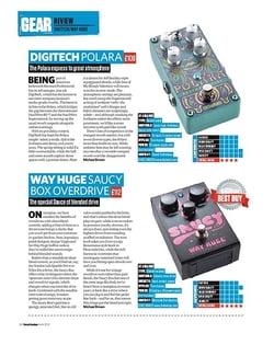 Total Guitar Digitech Polara