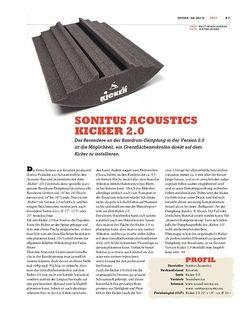 Sticks Sonitus Acoustics Kicker 2.0