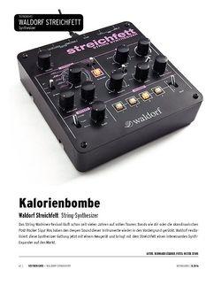 Keyboards Waldorf Streichfett - String-Machine-Synthesizer