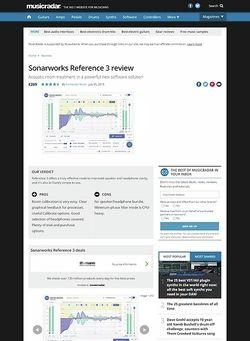 MusicRadar.com Sonarworks Reference 3