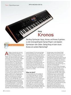 Keys Korg Kronos 2015