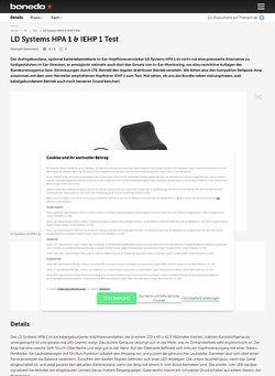 Bonedo.de LD Systems HPA 1