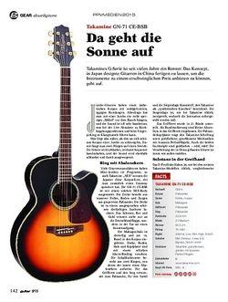 Guitar Takamine GN-71 CE-BSB