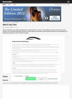 Bonedo.de AKG K-912