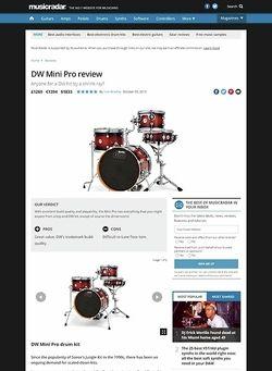 MusicRadar.com DW Mini Pro