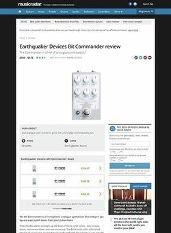 MusicRadar.com Earthquaker Devices Bit Commander