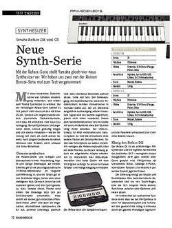 SOUNDCHECK Yamaha Reface DX und CS
