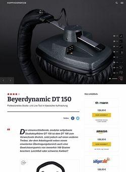 Kopfhoerer.de Beyerdynamic DT-150