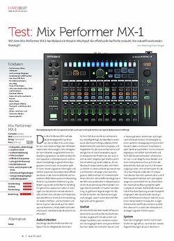 Beat Roland Mix Performer MX-1