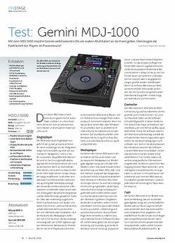 Beat Gemini MDJ-1000