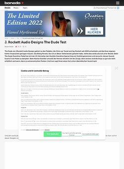 Bonedo.de JRockett Audio Design The Dude