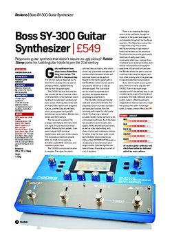 Future Music Boss SY-300