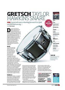 Rhythm Gretsch Taylor Hawkins Snare