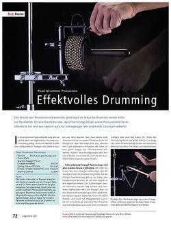 Soundcheck Test – Pearl Drummer Percussion