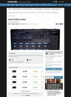 MusicRadar.com Line 6 Helix