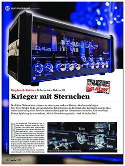 guitar Hughes & Kettner Tubemeister Deluxe 20