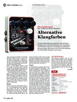 guitar Electro-Harmonix Key 9 Electric Piano Machine