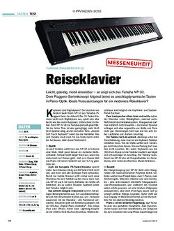 tastenwelt Yamaha Piaggero NP-32 - Reiseklavier