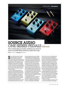 Guitarist Source Audio Gemini Chorus