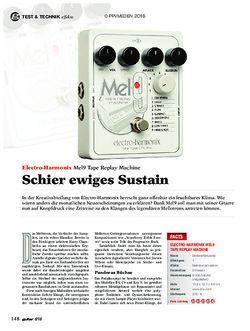 guitar Electro-Harmonix Mel9 Tape Replay Machine