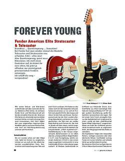 Gitarre & Bass Fender American Elite Stratocaster & Telecaster, E-Gitarren