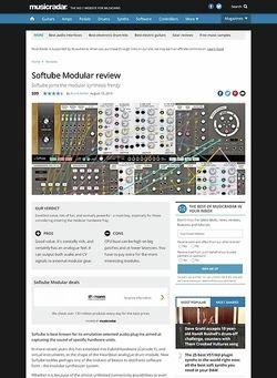 MusicRadar.com Softube Modular