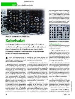 KEYS Feature: Modularsynthesizer