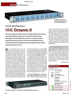KEYS Test: RME Octamic II
