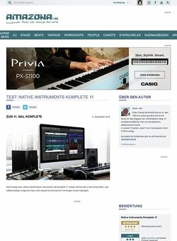 Amazona.de SPECIAL: Native Instruments Komplete 11