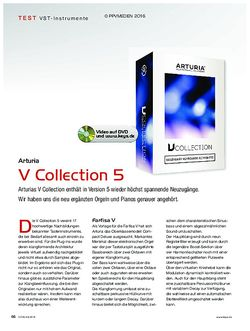 KEYS Arturia V Collection 5