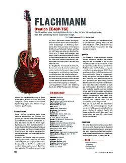 Gitarre & Bass Ovation CE48P-TGE, A-Gitarre