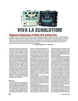 Gitarre & Bass Pigtronix Echolution 2 Filter Pro & Ultra Pro, FX-Pedale