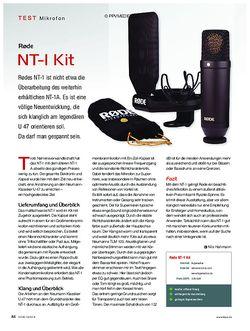 KEYS Rode NT-1 Kit