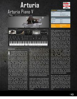 Professional Audio Arturia Piano V