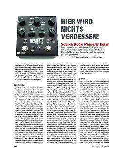 Gitarre & Bass Source Audio Nemesis Delay, Effekt-Pedal