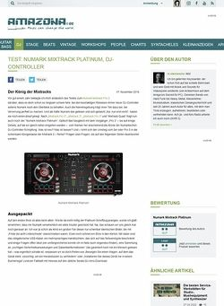 Amazona.de Numark Mixtrack Platinum