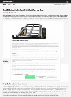 Bonedo.de RockNRoller Multi-Cart R12RT All Terrain