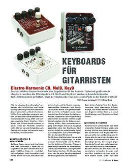Gitarre & Bass Electro-Harmonix C9, Mel9, Key9