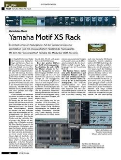 KEYS Yamaha Motif XS Rack