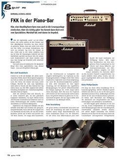 Guitar gear Amp - Marshall AS50D & AS100D