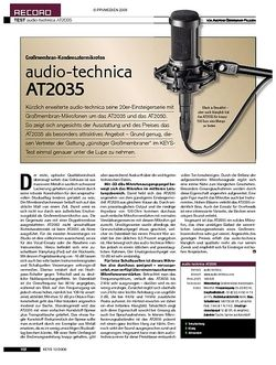 KEYS audio-technica AT2035
