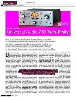 KEYS Universal Audio 710 Twin-Finity