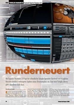Professional Audio Runderneuert Toontrack Superior Drummer 2.0
