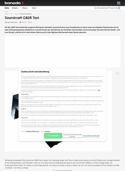 Bonedo.de Soundcraft GB2R
