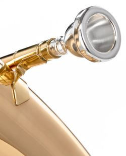 Mouthpieces for brass wind instruments