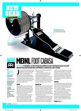 FCA5-L Foot Cabasa Large